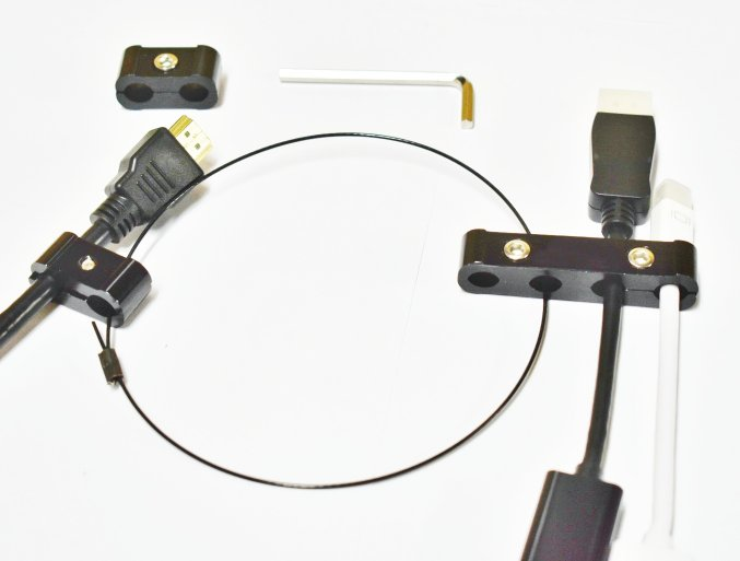 Conference Room Cable Lock Security Tether