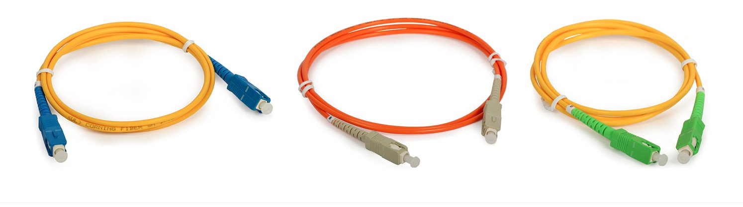 12 inch 9//125 - Singlemode Simplex Fiber Optic Cable 1ft - LC to LC
